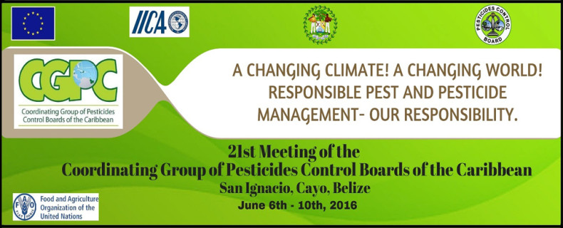 21st Meeting of the Coordinating Group of Pesticides Control Boards of the Caribbean