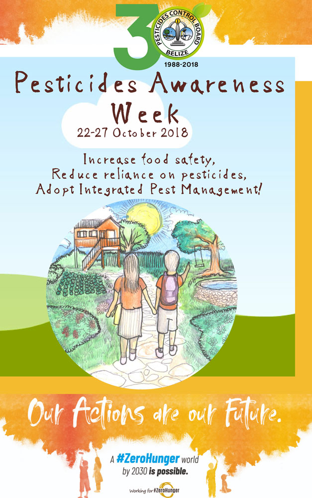 Pesticides Awareness Week Notebook Cover